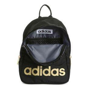 Adidas Core Mini Zip Backpack Gold Black